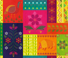 Mexican Embroidery Sampler