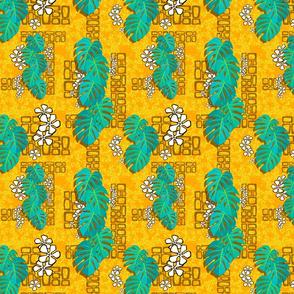 Tiki Garden Wall  004 - 8in