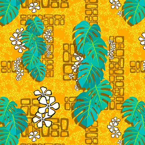 Tiki Garden Wall 004 - 16in