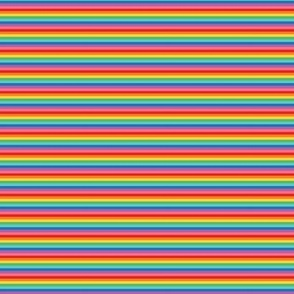 ultra tiny rainbow stripes 2
