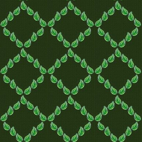 green walll. tweed.