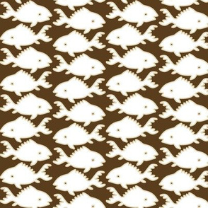 Fishes-1-white-sand-lines-BROWN