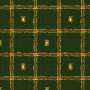 Tweed with squares