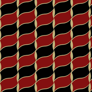 Leaves_Pattern_Red_Black