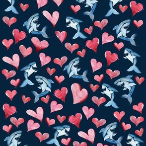 Sharks and Hearts
