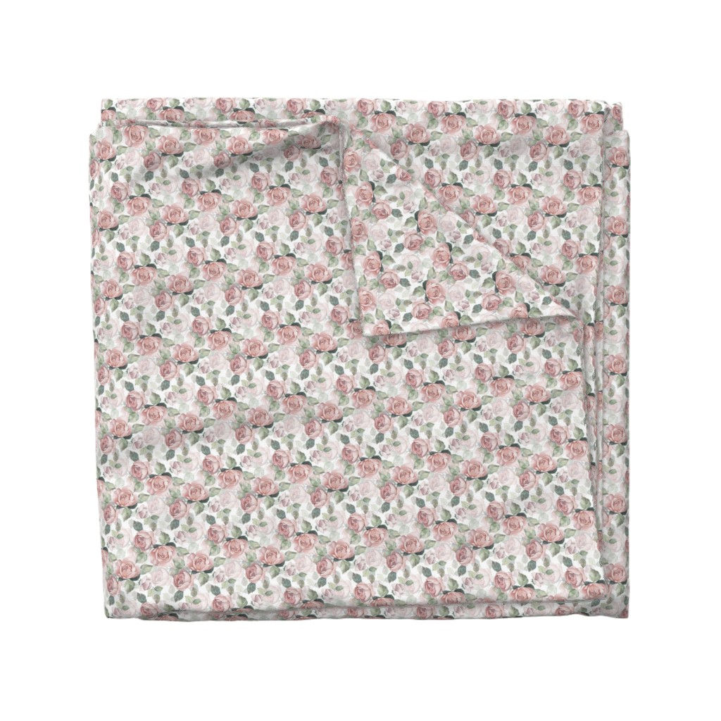 Wyandotte Duvet Cover featuring Roses 14 by gribanessa