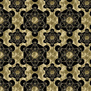 Golden Metatron's Cube