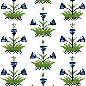 Papyrus fabric design
