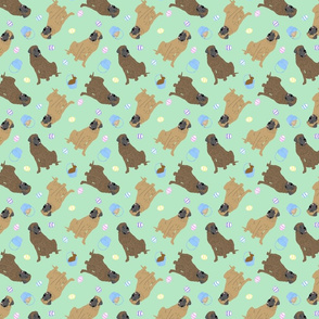 Tiny Mastiffs - Easter