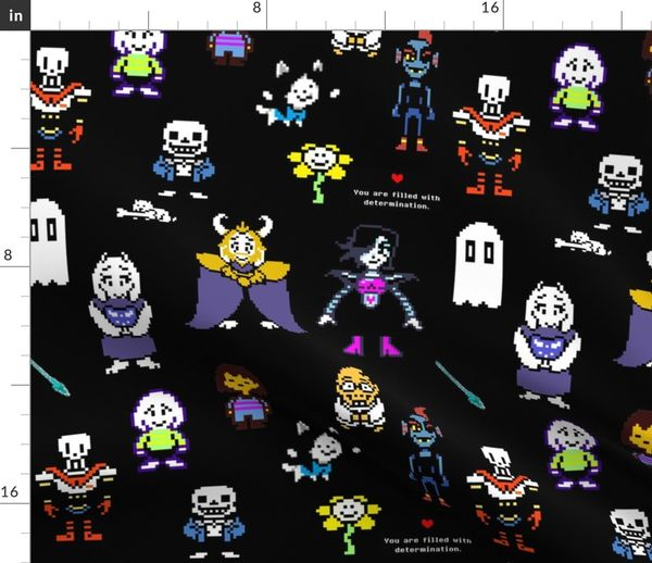 Fabric by the Yard Undertale