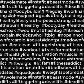 fitspo fitness hashtags