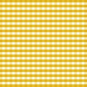 Mustard Gingham