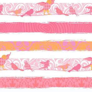 Birds & Stripes XL