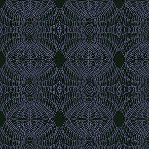World Web (Purple on Black)