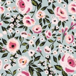 Indy Bloom Design Rosie Plum Blue