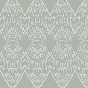 Lace Shield ( Gray)