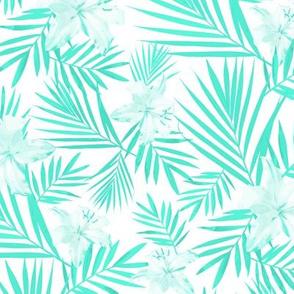 Tropical Mint Tints White