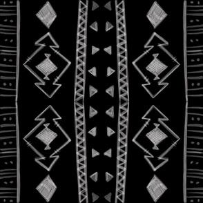 Tribal in Black & White