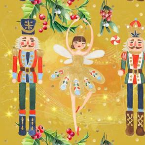 Christmas Gold Nutcracker version 2