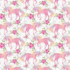unicorn floral small size