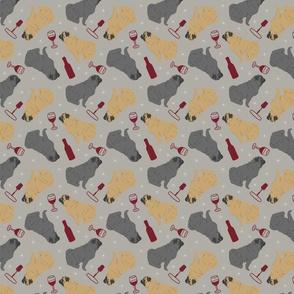 Tiny Pugs - wine