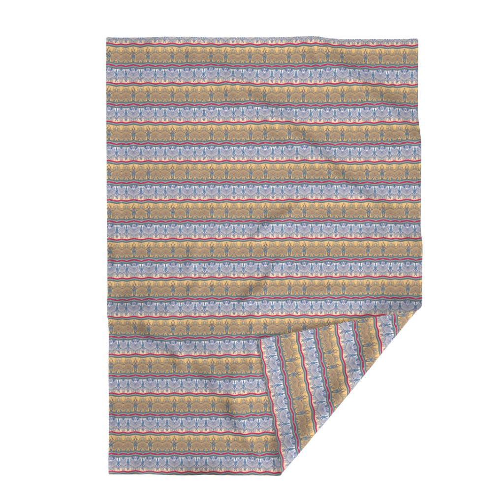 Lakenvelder Throw Blanket featuring techstripe by rissocodesigns