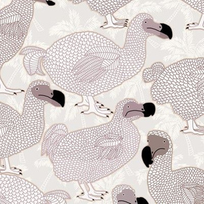Dodos in Brown - LARGE