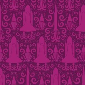Rocket Science Damask (Pink)