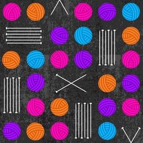 Knit & Purl (Neon)