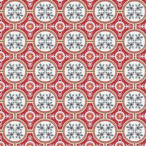 Watercolour tiles