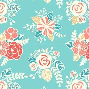Shabby chic flowers 003