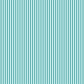 pinstripes vertical teal