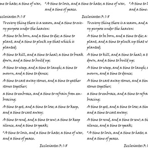 Ecclesiastes Seasons Bible Scripture