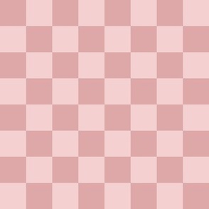 """Pink Checked """"Bored"""""""