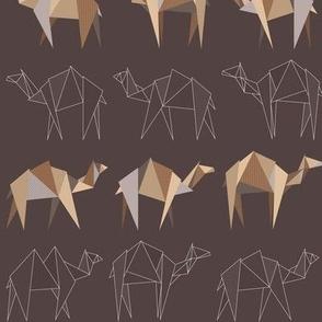 Camels and Dromedaries / Desert