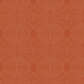 World Web (Pumpkin on Brick)