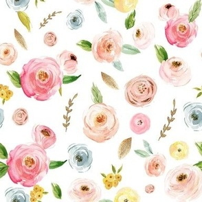Blush Pinks & Pastels Floral