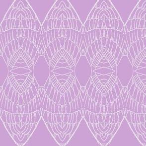 Lace Shield (Fuchsia)