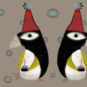 Penguins Fabric