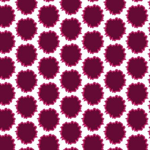 17-03B Pink Magenta Plum Rough Circles Graphic_Miss Chiff Designs