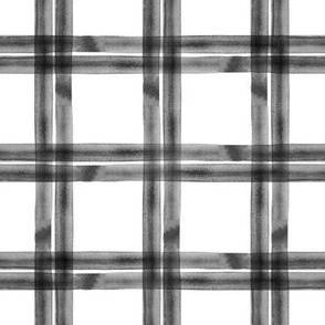 spring plaid || monochrome double
