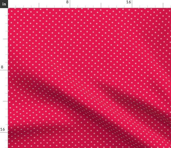 Stoff Meterware Streifen Sterne Rot Punkte Hamburger Liebe