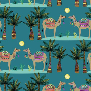 desert camels