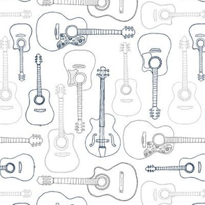 Rock music instrument guitar pattern