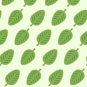 Greenery Chameleon - leaves