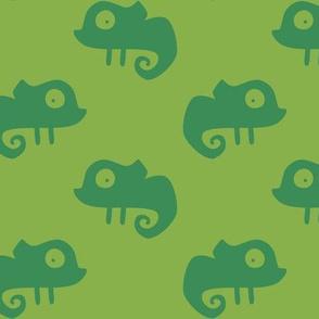 Greenery Chameleon - Camouflage