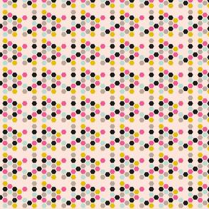 Sweetest Bee Keeper Hexagon Mix Pink
