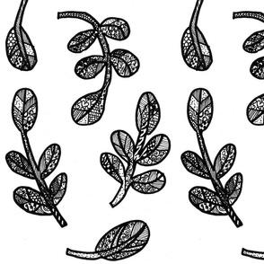 shrubs doodle