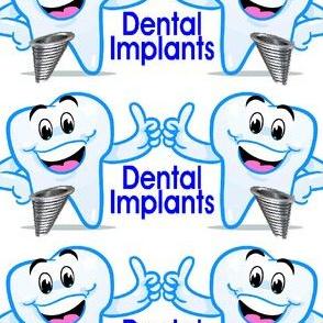 Dental Implants Happy Teeth Thumbs Up
