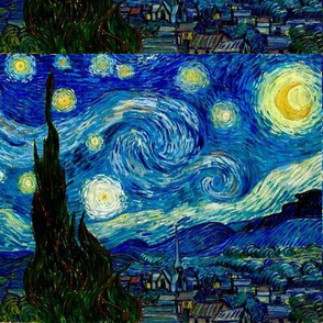 "8x6 2/3"" The Starry Night Van Gogh"